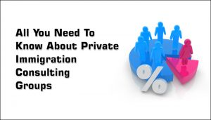 All You Need To Know About Private Immigration Consulting Groups